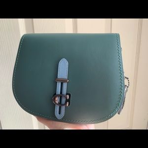 NWT Coach Saddle in Colorblock 54392